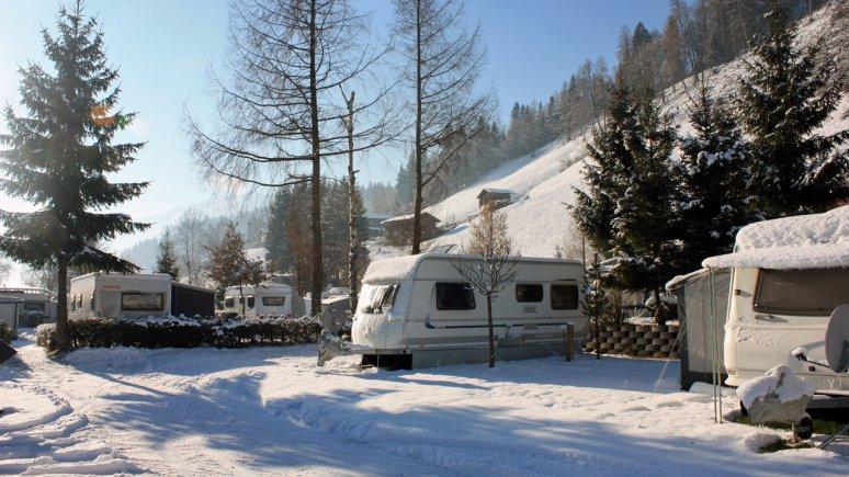 Camping in inverno all'Hells Ferienresort, © Hells Ferienresort