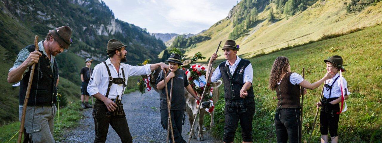 Transumanza a Steeg im Lechtal, © Tirol Werbung/Peter Neusser