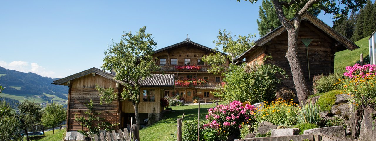 La fattoria Siedlerhof a Hopfgarten, © Tirol Werbung/Lisa Hörterer