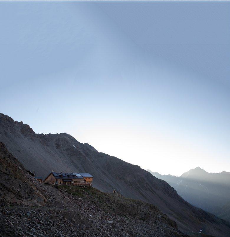 Alloggio per gli alpinisti con la migliore cucina: il rifugio Kaunergrathütte a 2.817 metri d'altitudine.