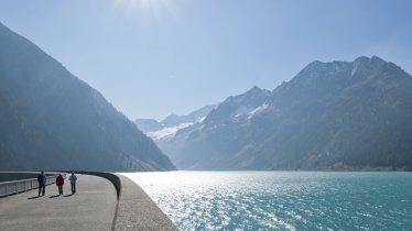 La diga di sbarramento Schlegeis, © VERBUND Tourismus