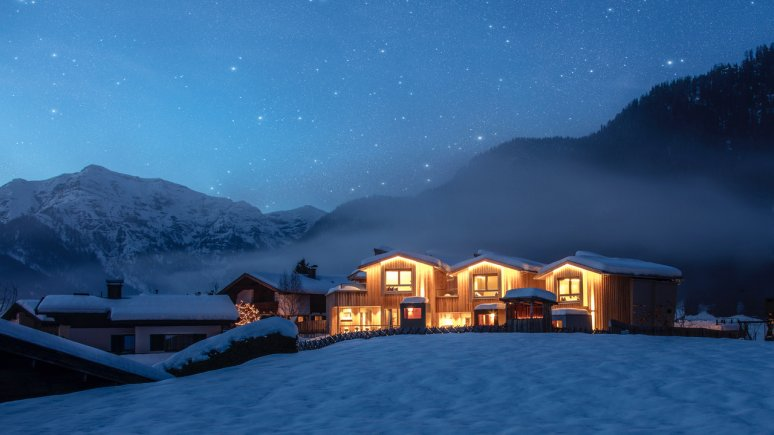 alpegg Chalet a Waidring in inverno, © alpegg Chalets