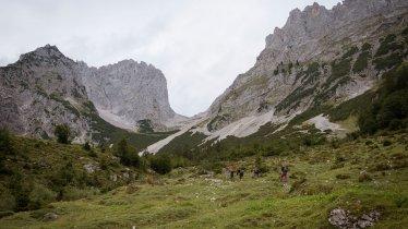 Sentiero dell'Aquila, tappa 02: rifugio Gaudeamushütte – lago Hintersteiner See, © Tirol Werbung/Jens Schwarz