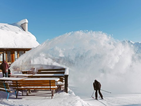 Uno sciatore a Sillian. , © TVB Osttirol