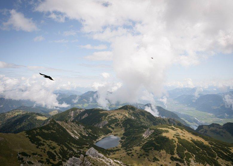 Uno sguardo sul lago Zireiner See. , © Tirol Werbung, Jens Schwarz