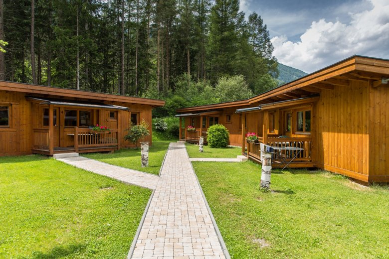 Alpine Lodges al Camping Ötztal