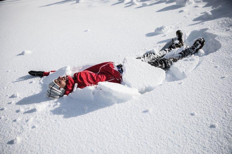 Voto artistico: Chi traccia l'angelo di neve più bello?