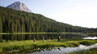 Il lago Schwarzer See, © Nauders Tourismus/Martin Lugger