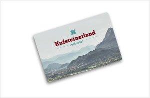 Kufsteinerland Card, © TVB Kufsteinerland