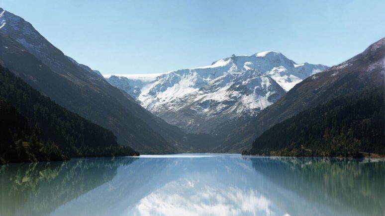 Il lago artificiale Gepatsch, © Tirol Werbung/Tobias Madörin