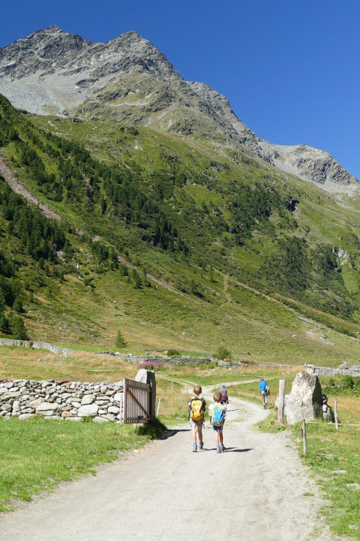 Malghe Jagdhausalmen nella valle Defereggental. , © Azzura Forti