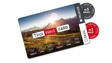 TirolWest Card