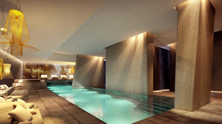 L'area spa dell'Hotel Zhero a Ischgl, © Hotel Zhero
