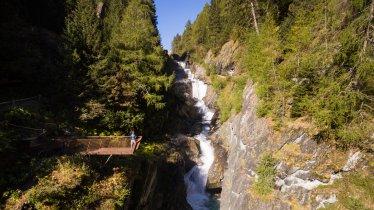 Sentiero tematico dell cascate Umbalfälle, © Tirol Werbung/W9 studios