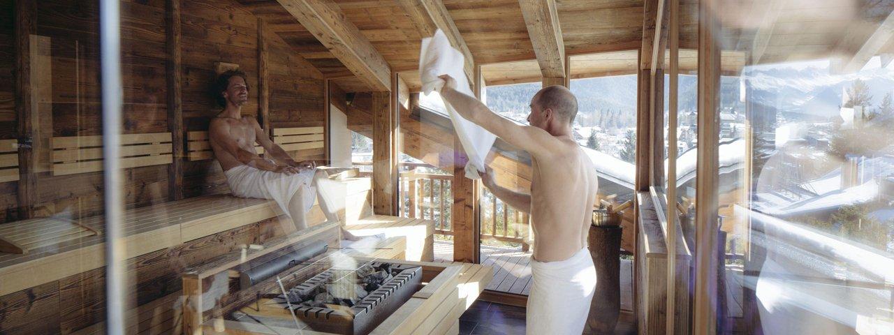 Wellness in Tirolo, © Tirol Werbung/Manfred Jarisch