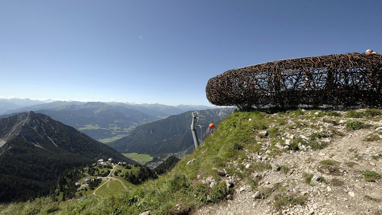 Nido dell'aquila Rofan, © Achensee Tourismus