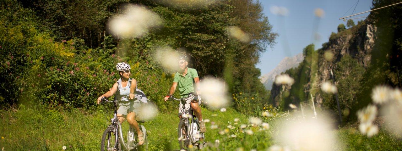 Rilassanti escursioni con la bici nella regione di Imst, © Imst Tourismus