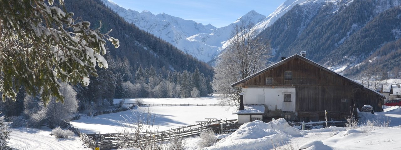 Gschnitz in inverno, © Wipptal
