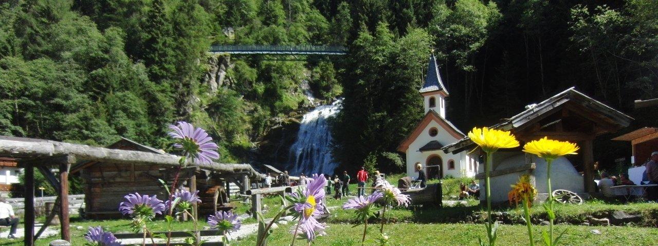 Il paese dei mulini Gschnitz in estate, © Wipptal