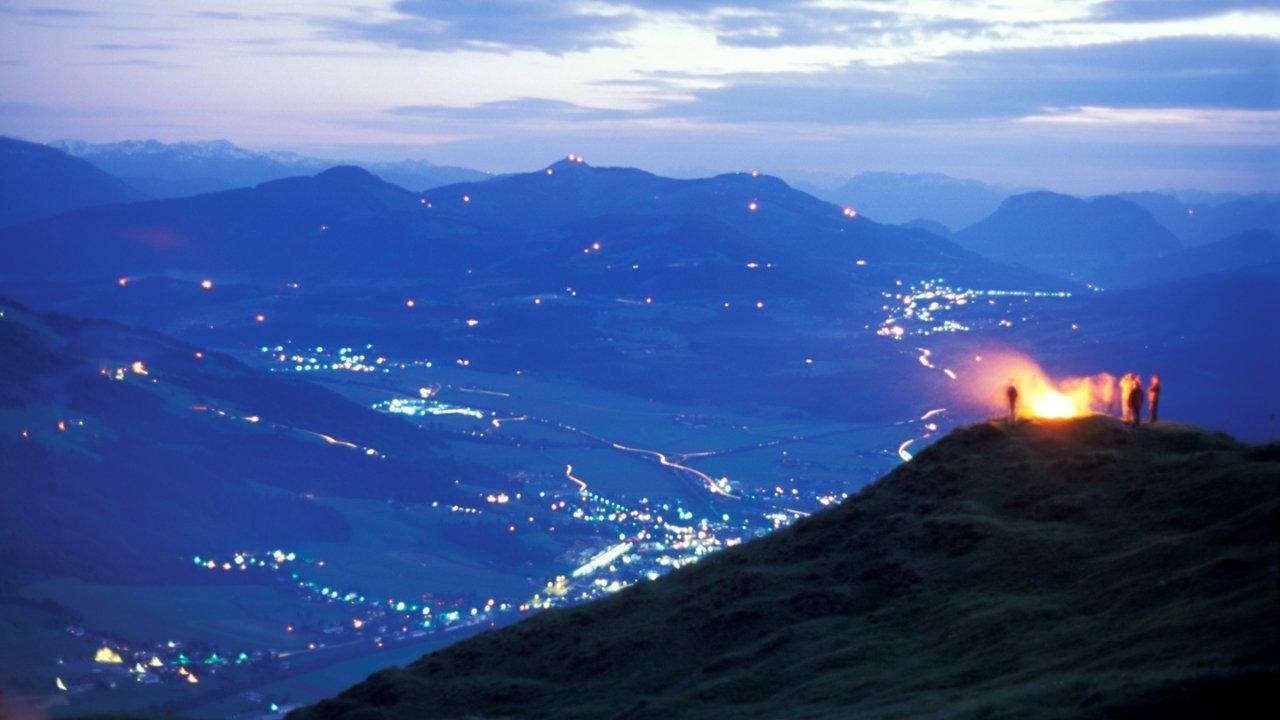 Fuoco del solstizio a St. Johann in Tirol, © Albin Niederstrasser