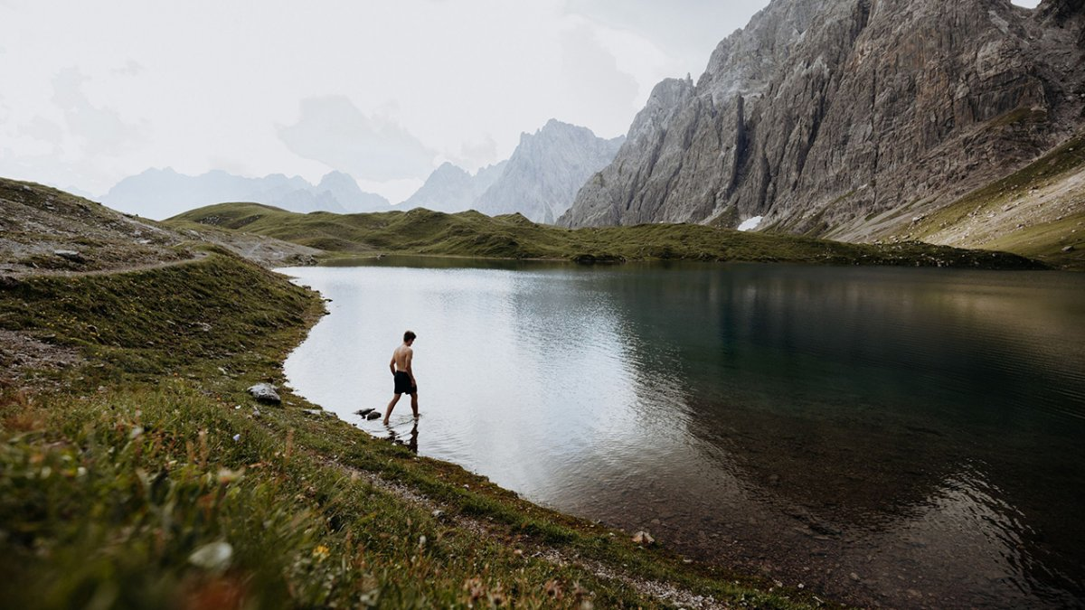 Il lago di Steinsee, alta via della Lechtal , © Tirol Werbung / Charly Schwarz