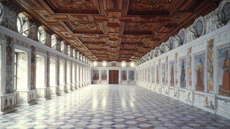 La sala spagnola del castello di Ambras, © Schloss Ambras