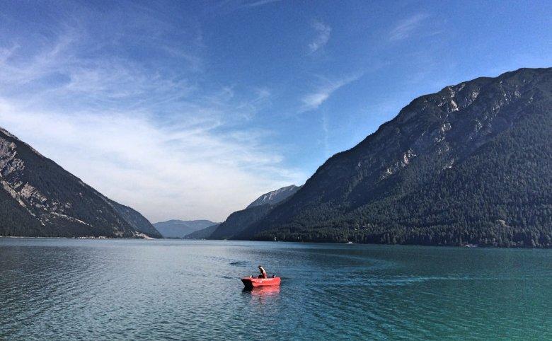 L'Achensee il più grande lago del Tirolo austriaco