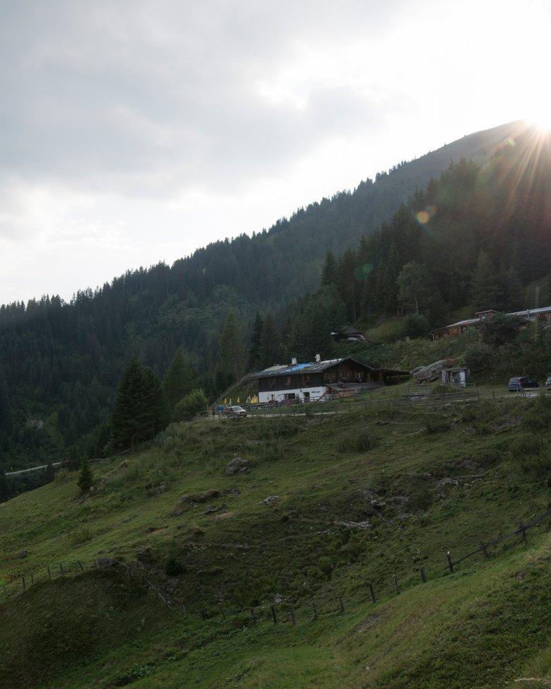 La vallata di Navis è tuttora un posticino poco conosciuto in Tirolo
