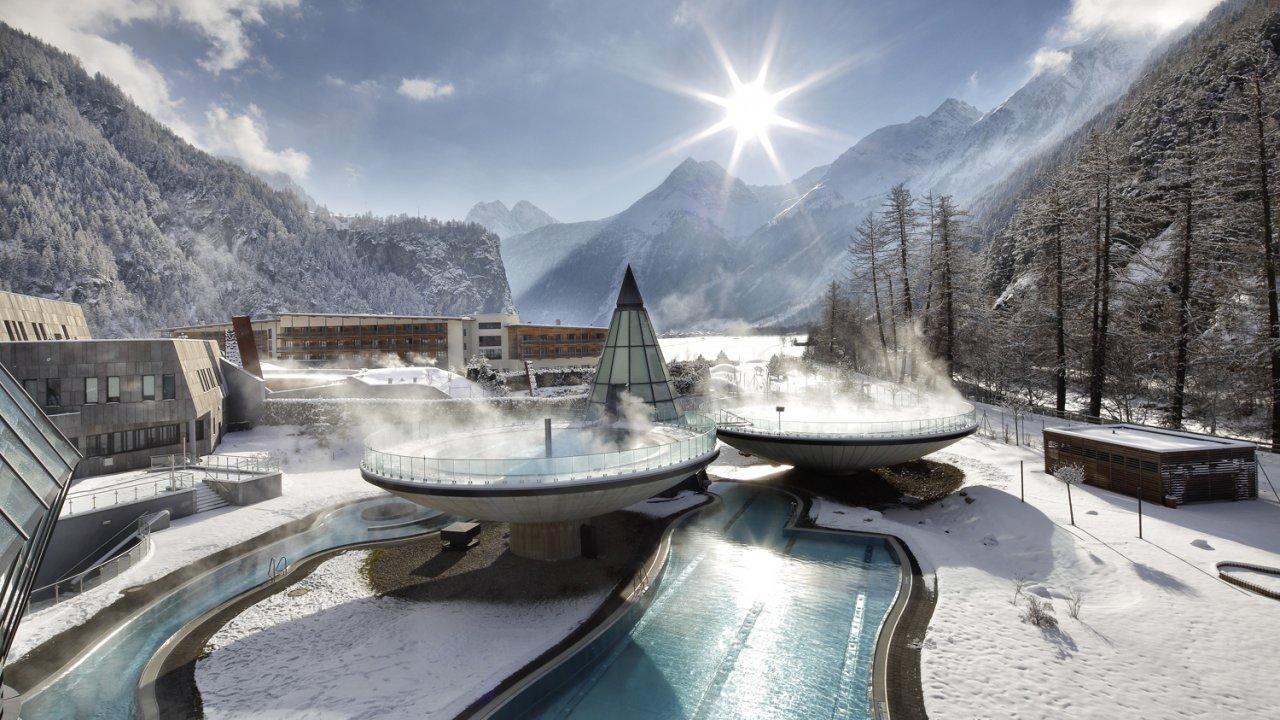 Aqua Dome in inverno, © Aqua Dome
