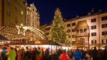 Mercatino di Natala nel centro storico di Innsbruck, © TVB Innsbruck/Christof Lackner