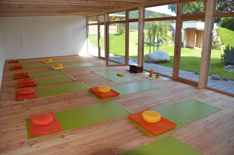 Anche il gestore è un insegnante di yoga certificato. , ©  aufatmen, Pfeiffer
