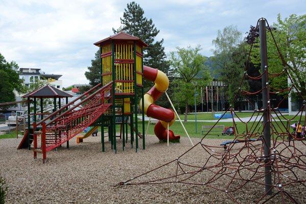 Il parco giochi nello Stadtpark di Kufstein, © Stadt Kufstein, Krautgasser