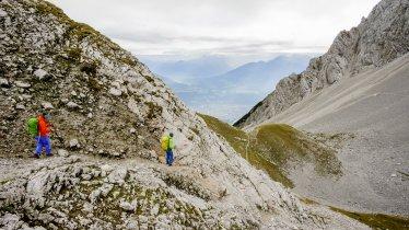 Sentiero dell'aquila, tappa 12: Rifugio Hallerangerhaus – Nordkette Innsbruck, © Tirol Werbung/Gigler Dominik