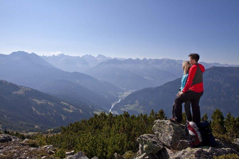 Vista panoramica dal Venet, Foto: TVB Tirol West, Daniel Zangerl
