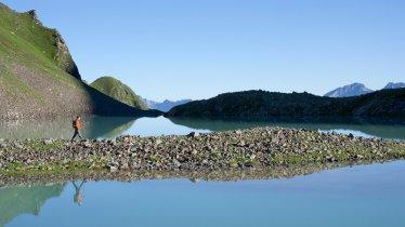 Il lago Faselfadsee all'Arlberg, © Tirol Werbung/Bernd Ritschel