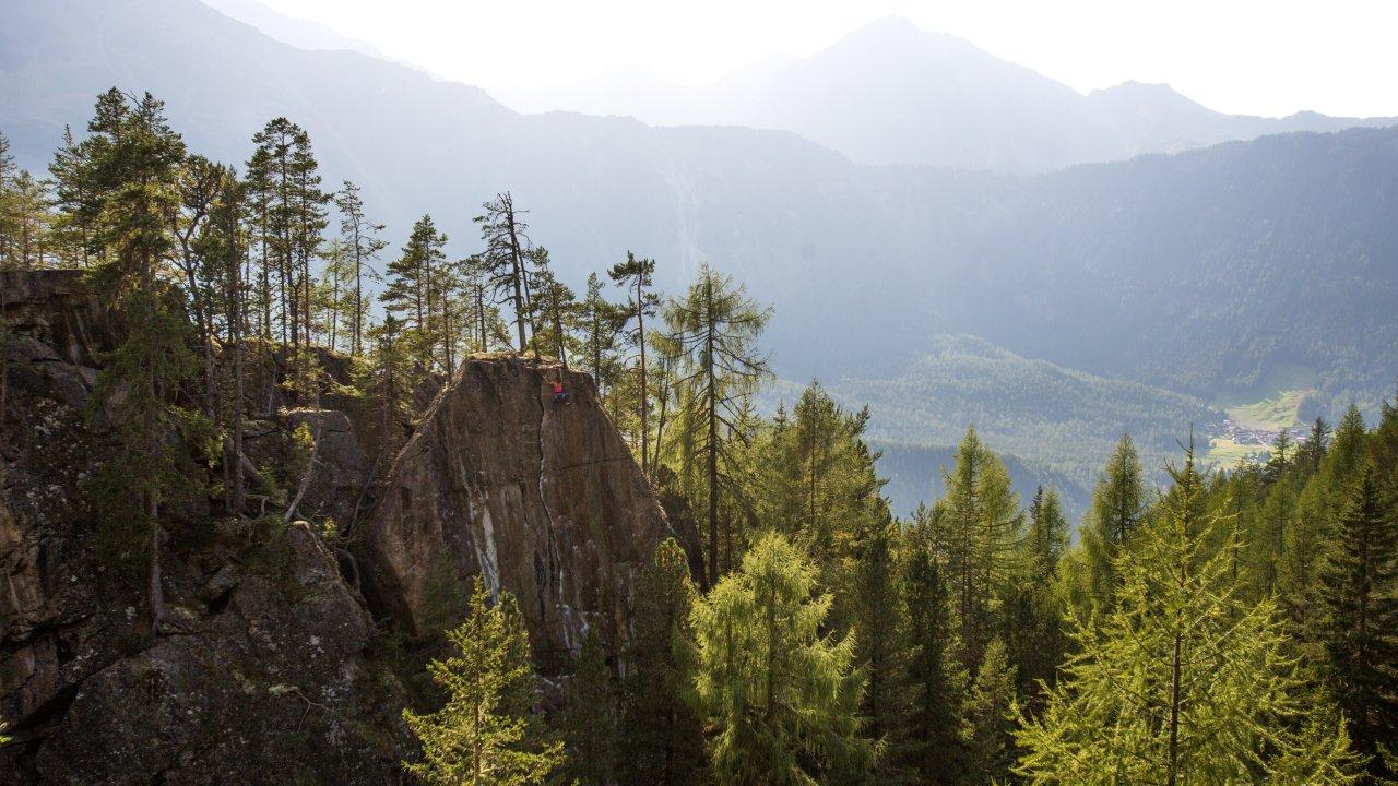 Parco d'arrampicata Niederthai, © Alpsolut