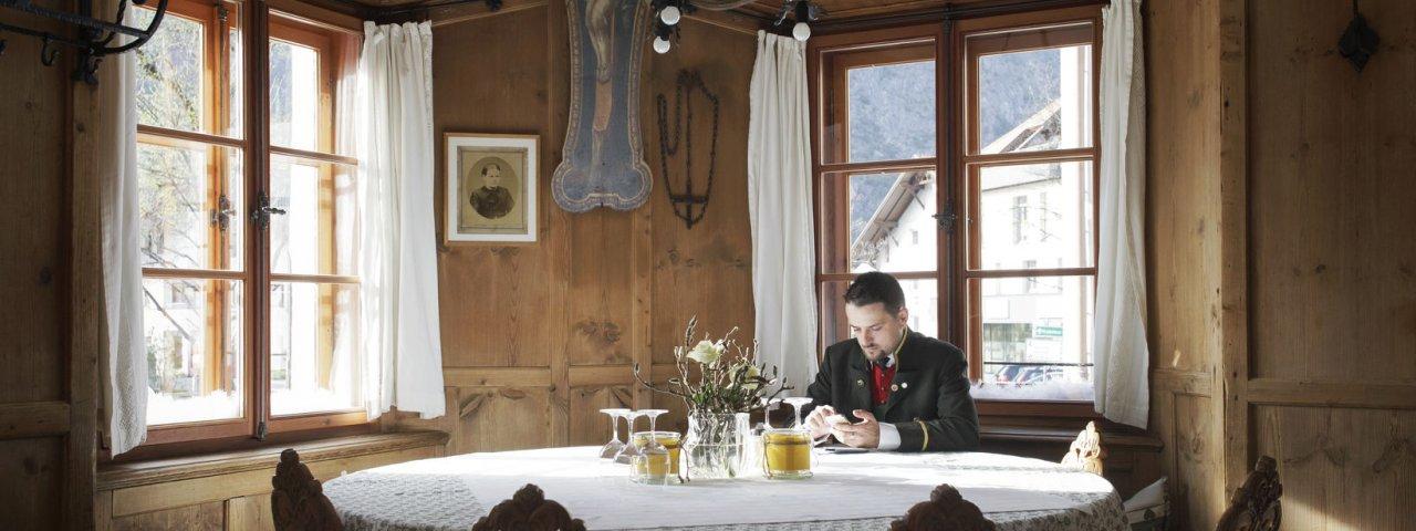 Trattoria Postgasthof Gemse a Zams, © Tirol Werbung/Verena Kathrein