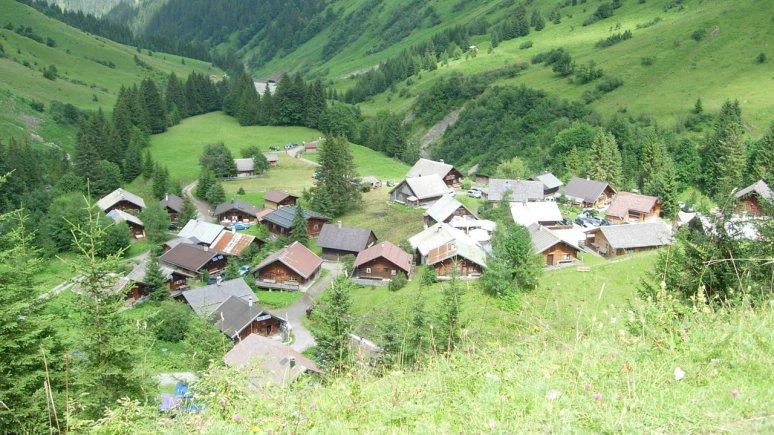 Villaggio alpino Fallerschein, © Hüttendorf Fallerschein