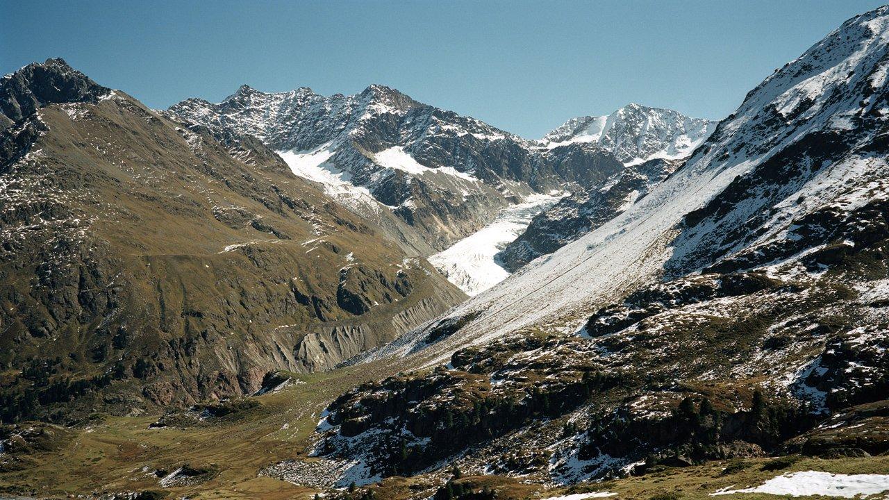 Il ghiacciaio della Kaunertal, © Tirol Werbung/Tobias Madörin