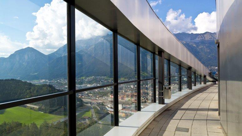Il trampolino del Bergisel, © TVB Innsbruck - Christopf Lackner