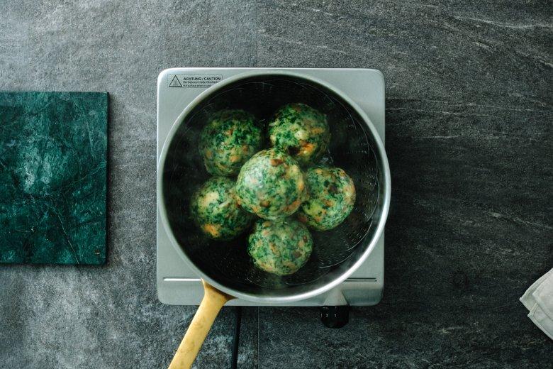 Passo 4: cuocere lentamente per circa 25 minuti in acqua salata.