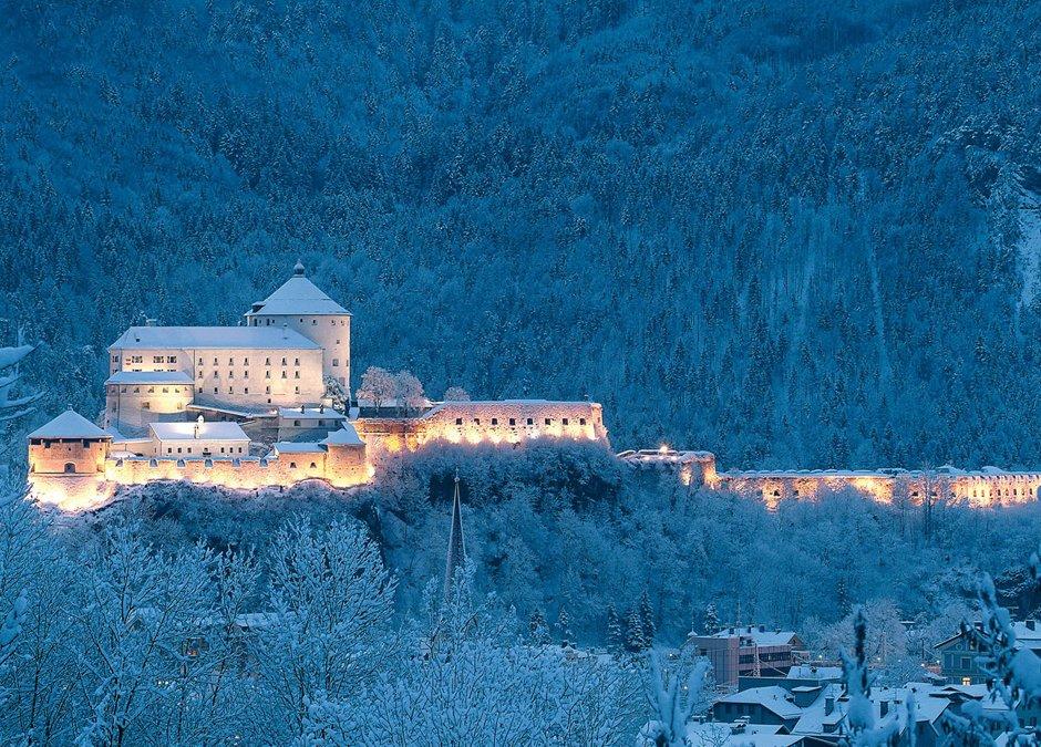 Fortezza di Kufstein d'inverno, © TVB Kufsteinerland