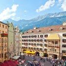 Il Tettuccio d'oro nel centro storico di Innsbruck, © TVB Innsbruck / Christof Lackner