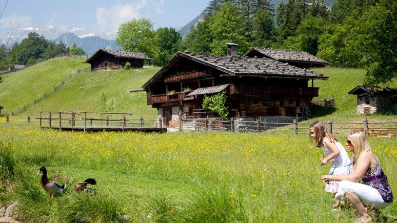 Il museo delle fattorie a Kramsach, © Alpbachtal Tourismus