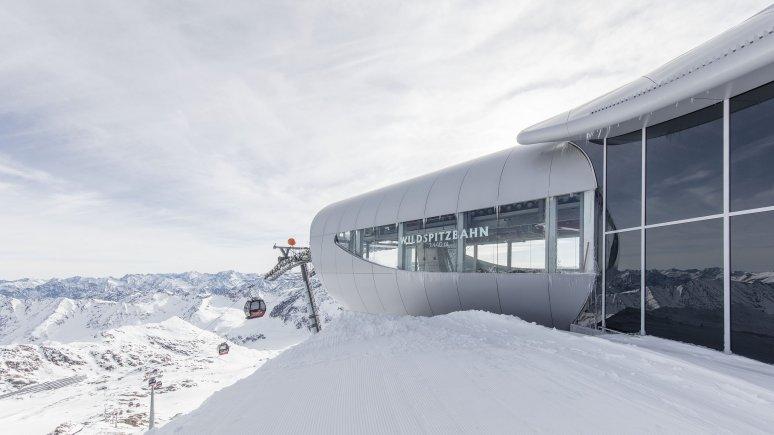 La Wildspitzbahn al ghiacciaio della Pitztal, © Tirol Werbung/Gregor Sailer