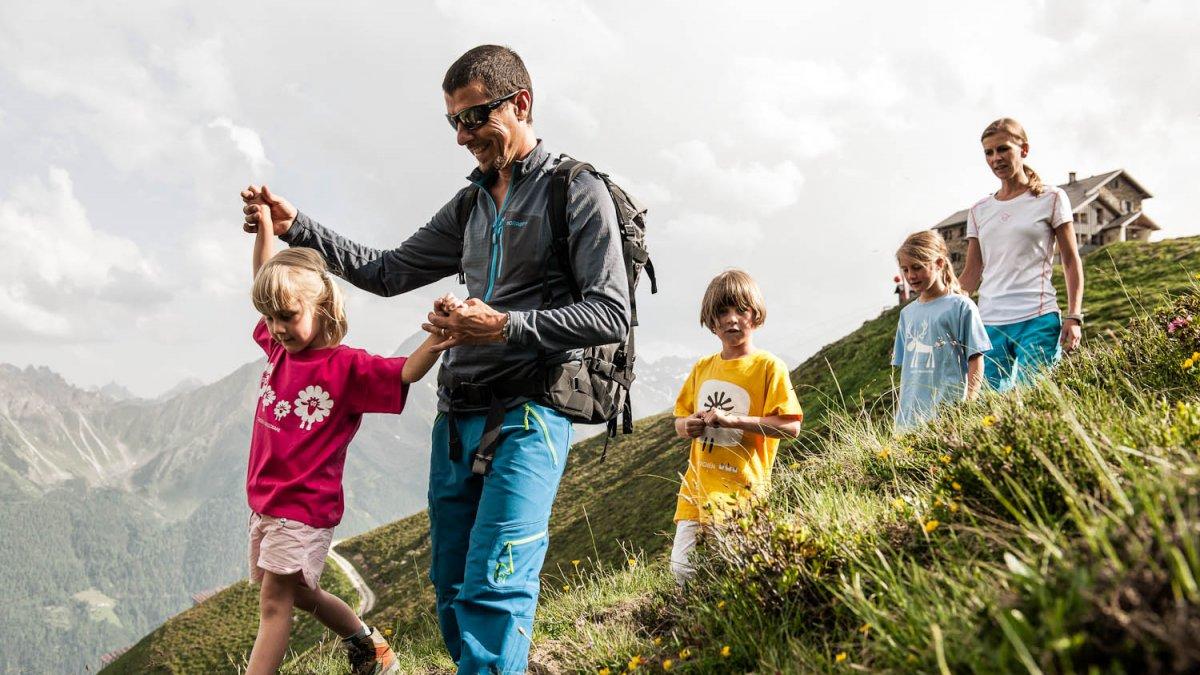 Stubai Tirolo Programma per famiglie Big Family Stubai., © TVB Stubai Tirol/André Schönherr