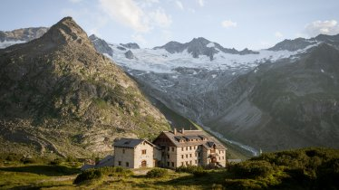 Il rifugio Berliner Hütte, © Tirol Werbung / Schwarz Jens
