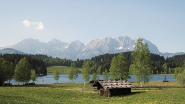 Lago naturale balneabile Schwarzsee, © Kitzbühel Tourismus/Medialounge