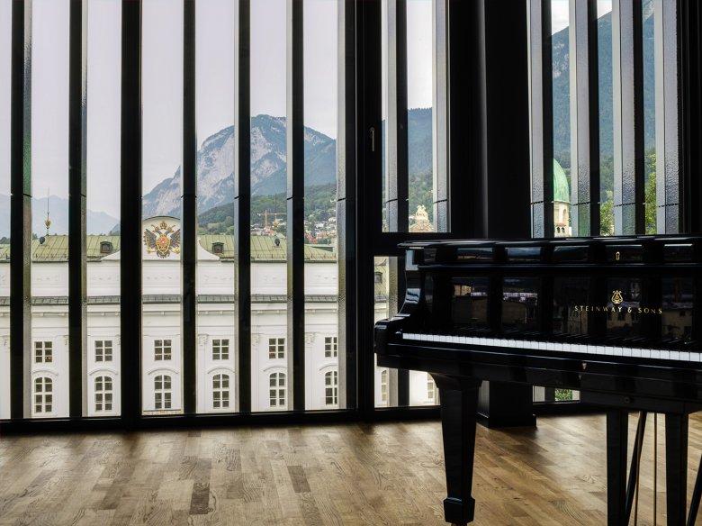 La varietà degli spazi proposti offre condizioni ottime per gli artisti.