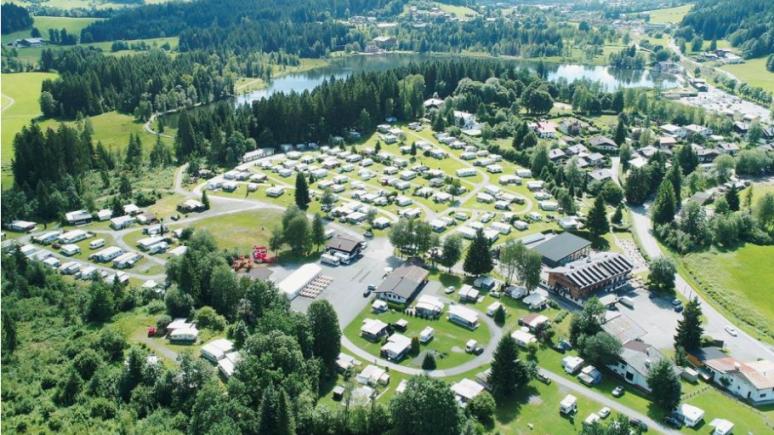 Il camping Schwarzsee vicino a Kitzbühel, © Bruggerhof Camping